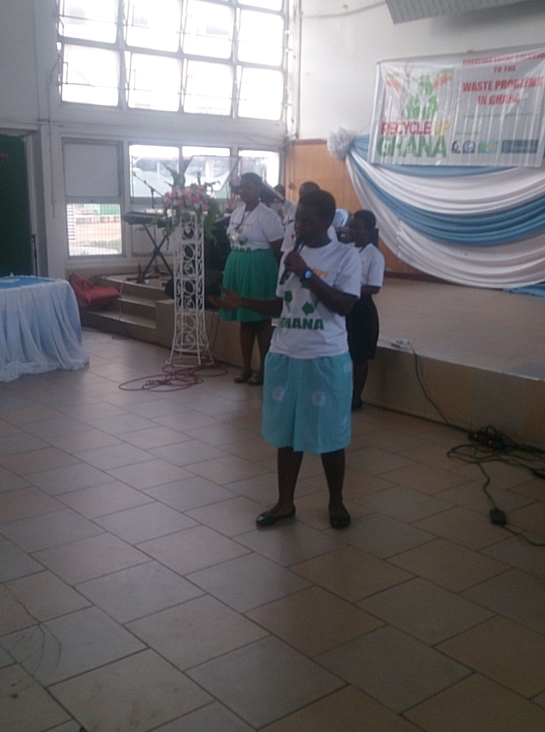Day 9: Grand Finale of Recycle Up Ghana