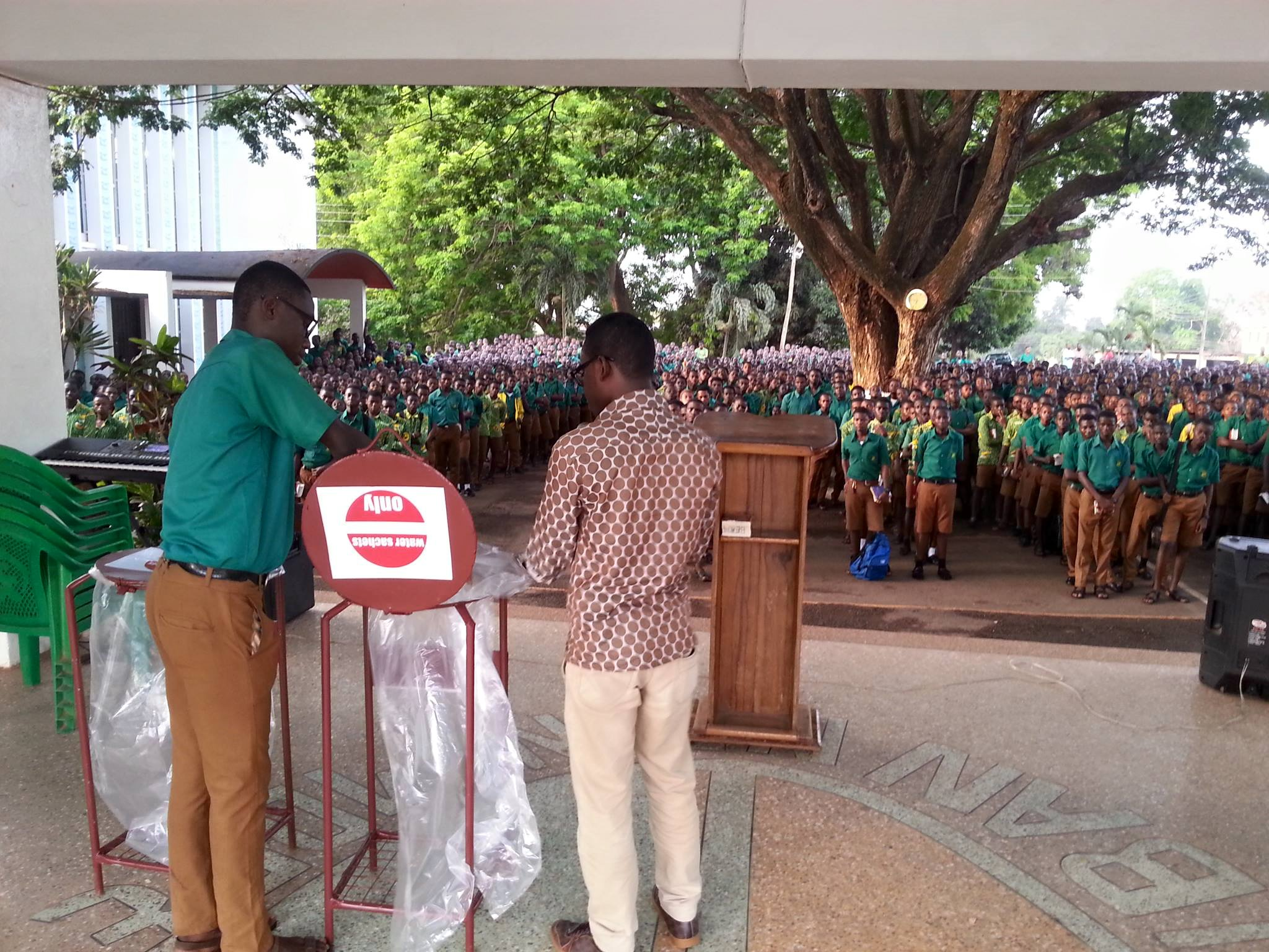 #RecycleUpGhana Storms Senior High Schools in Kumasi