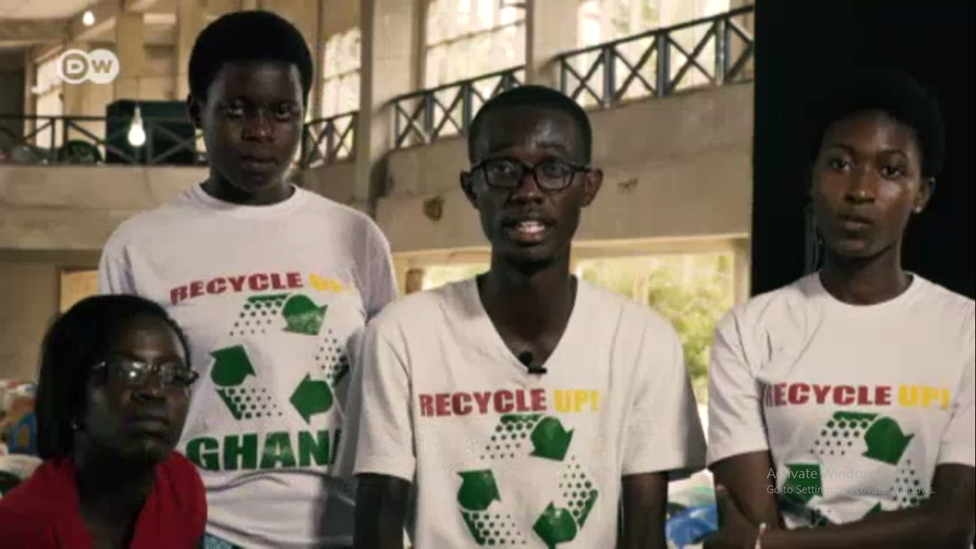 Video: Recycle Up! Featured on DW TV