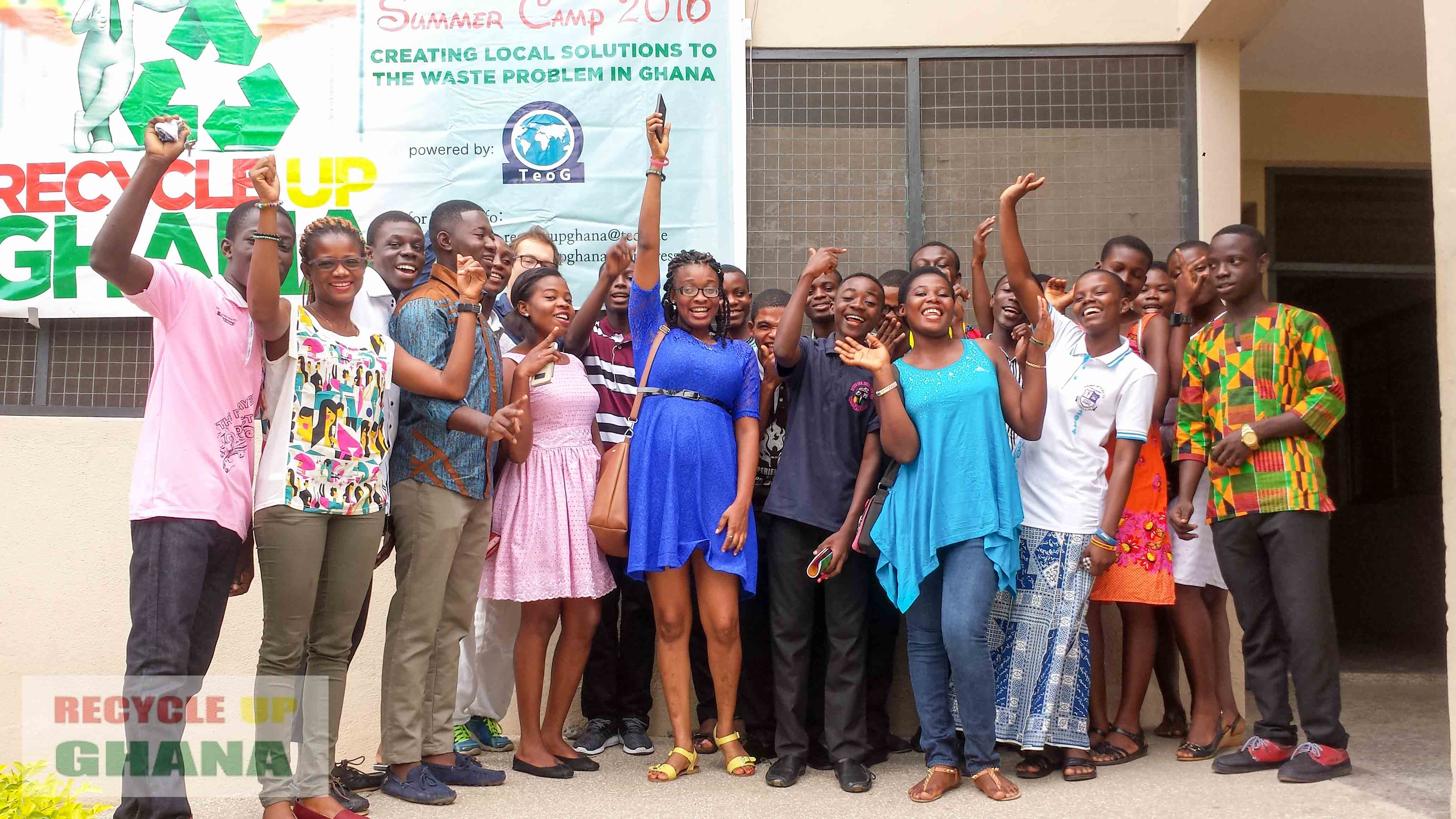 Day 2 in Cape Coast: Communication Skills and Plastic Knowledge