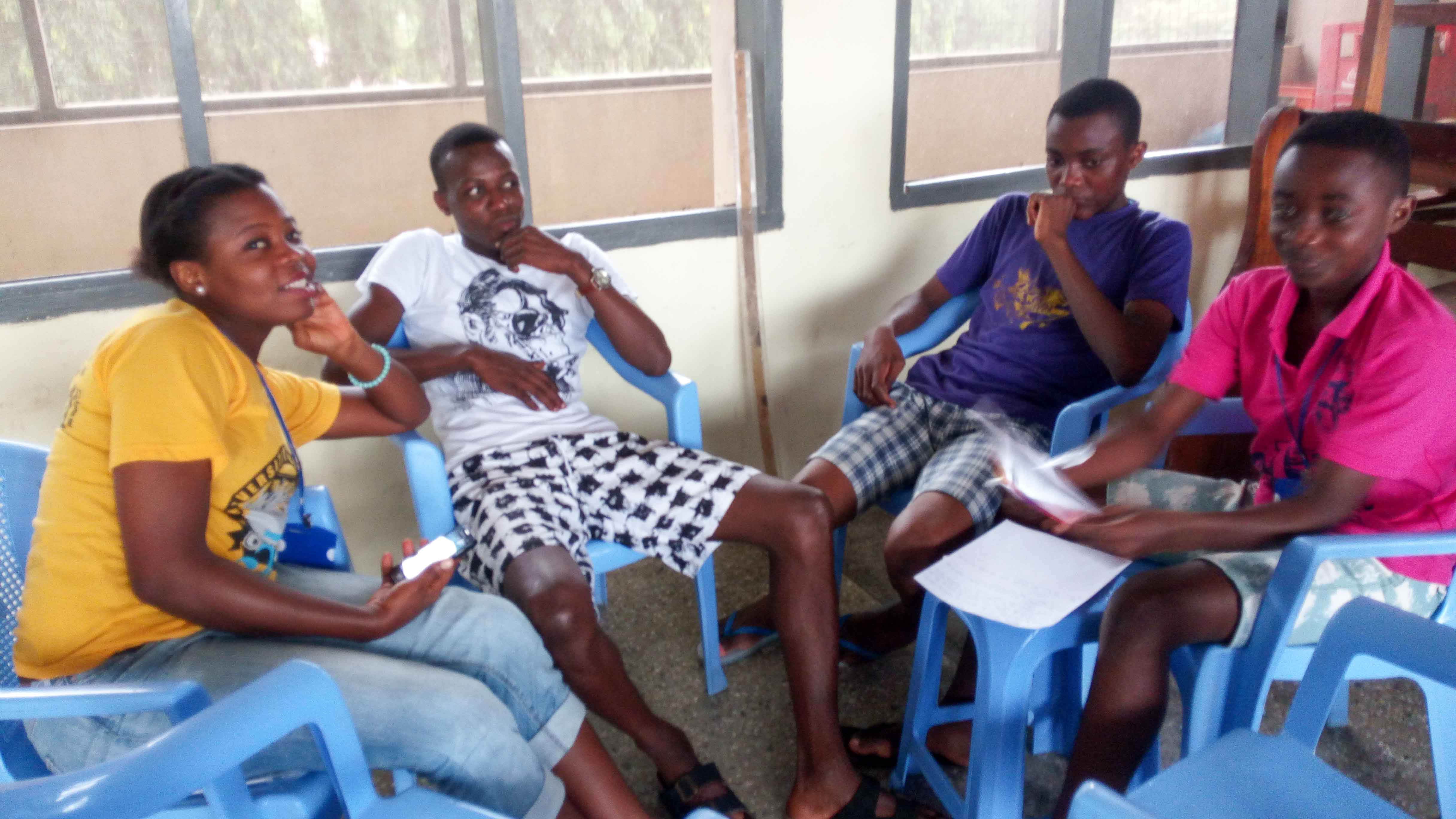 Day 7 in Cape Coast: Technical Skills, Discussions and Presentations